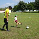 サッカー教室がありました⚽